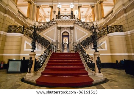 Palace Stairs Stock Images, Royalty