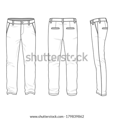 Man Trousers Stock Images, Royalty-Free Images & Vectors