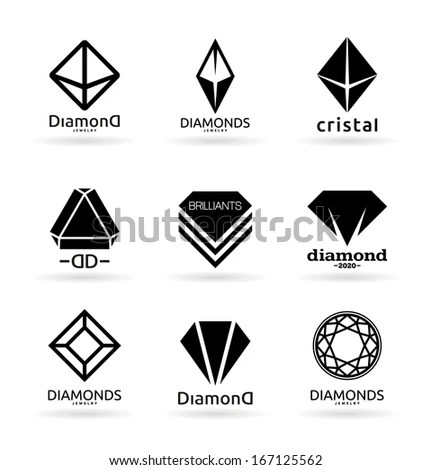 Set Geometric Shapes Hipster Retro Backgrounds Stock