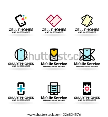 Mobile Phone Logo Stock Images, Royalty-Free Images