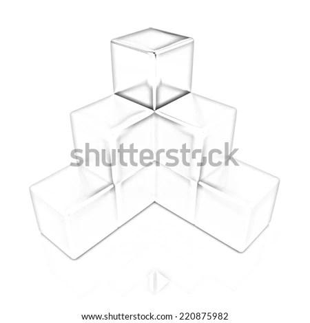 Hexagonal Tray Window Cover Stock Vector 195552047