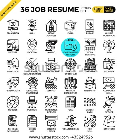 Cv Icon Stock Images, Royalty-Free Images & Vectors
