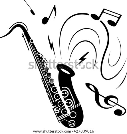 Saxophone Stock Photos, Royalty-Free Images & Vectors