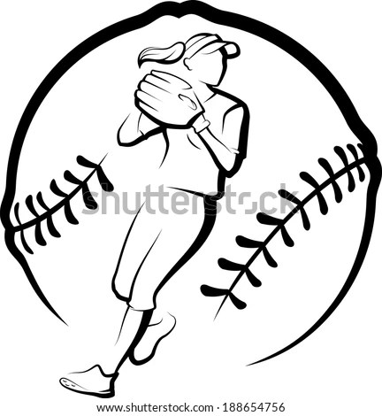 Girls Softball Stock Images, Royalty-Free Images & Vectors