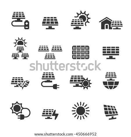 Solar Power: Vector Solar Power