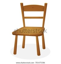 Wooden Chair Stock Images, Royalty