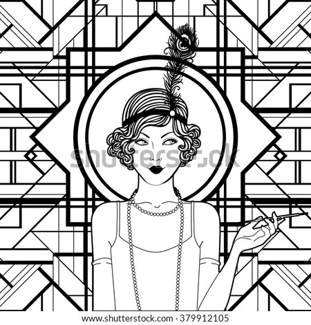 Roaring Twenties Coloring Pages Coloring Pages