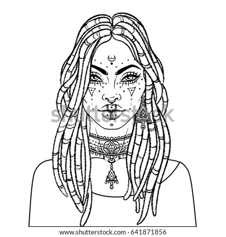 Hair Dreads Stock Images, Royalty-Free Images & Vectors