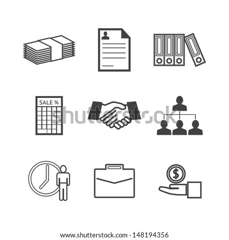 Corporate Icons Stock Images, Royalty-Free Images