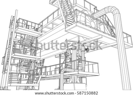 Gas Plant Stock Images, Royalty-Free Images & Vectors