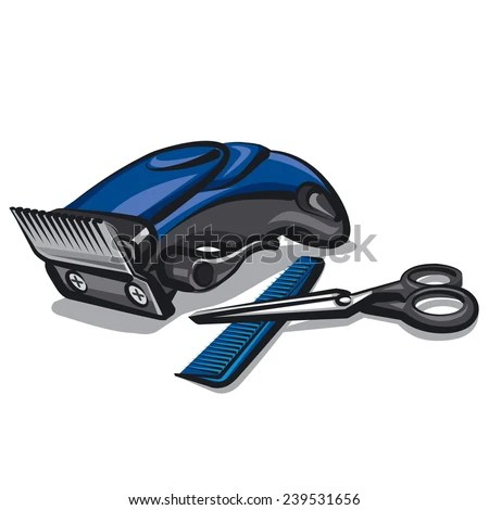 hair clipper stock royalty-free