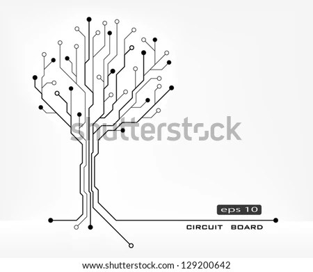 Circuit Tree Stock Images, Royalty-Free Images & Vectors