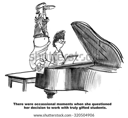 Piano Teacher Stock Images, Royalty-Free Images & Vectors