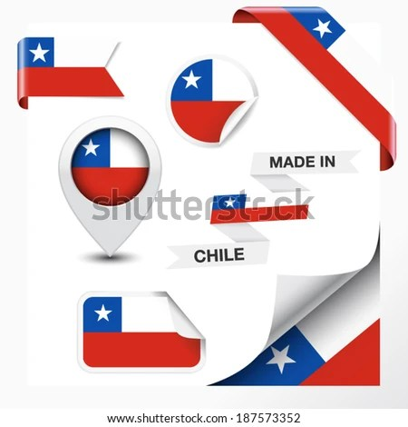Chile Flag Stock Photos Images Pictures Shutterstock