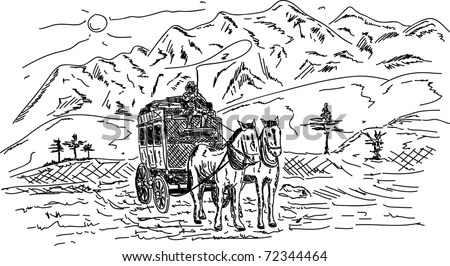 Covered Wagon Stock Images, Royalty-Free Images & Vectors