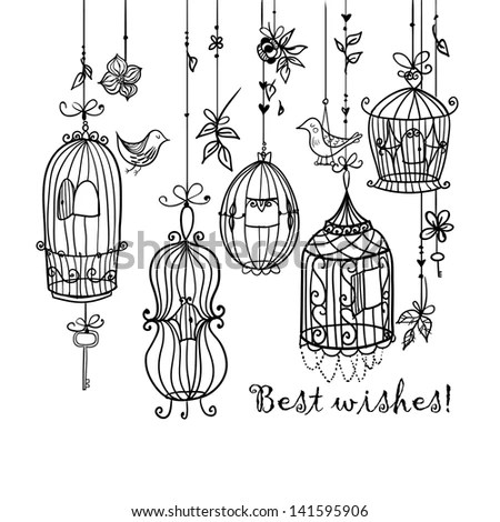 Bird Cage Stock Images, Royalty-Free Images & Vectors