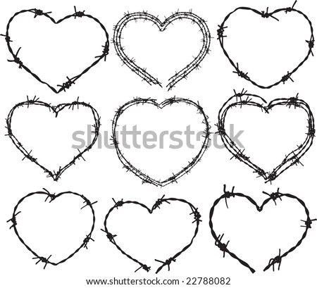 Barbed Wire Vector Stock Images, Royalty-Free Images