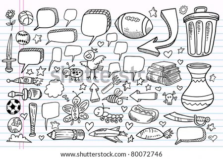Sports Doodles Stock Photos, Royalty-Free Images & Vectors