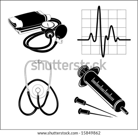 Stethoscope Silhouette Stock Images, Royalty-Free Images