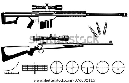 Sniper Rifle Stock Images, Royalty-Free Images & Vectors