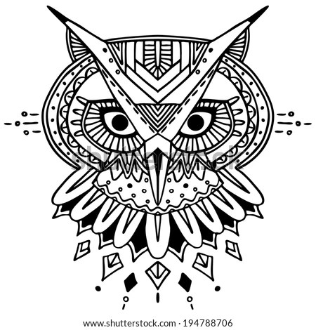 All Seeing Eye Tattoo Art Vector Stock Vector 534660064