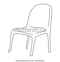 Black Outline Vector Wheel Chair On Stock Vector 128653913 ...