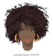 portrait beauty african women stock