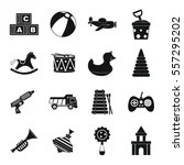 Vector Images, Illustrations and Cliparts: Toys icon