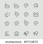 Vector Weather Forecast...