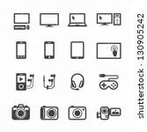 Electronic Light Bulb Circuit Symbol clip art vector, free