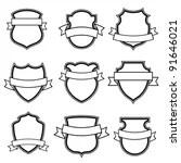 Great Free Vector Heraldic Shield