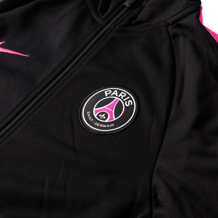 paris saint germain trainingsjacke nsw crew schwarz pink