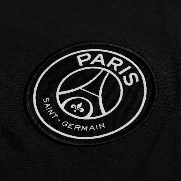 nike t shirt wordmark jordan x psg schwarz weiss limited edition