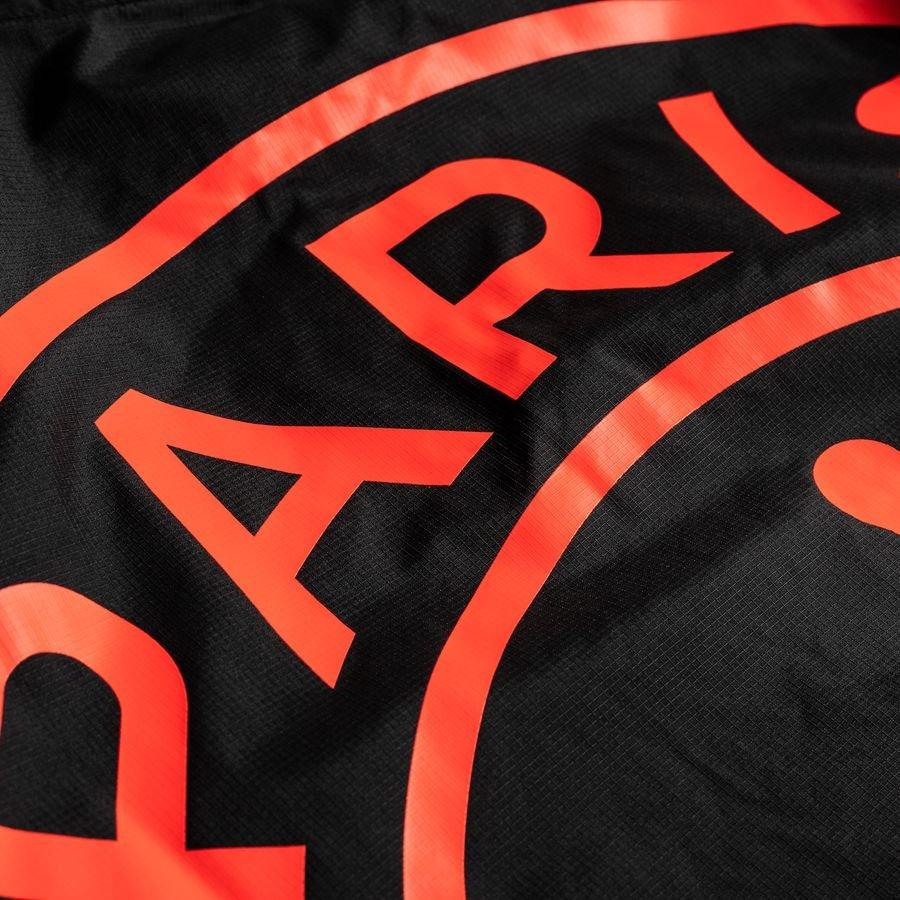 nike jacket coach jordan x psg black red limited edition