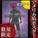 【映画ポスター】ジャスティンビーバー ビリーヴ (Justin Bieber's Believe グッズ) /片面