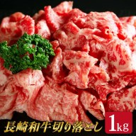 【ふるさと納税】 BAJ014 【長崎和牛】 牛肉 切り落し