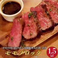 【ふるさと納税】 BAU035 【長崎和牛】 牛肉 モモブロ