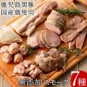 【ふるさと納税】鹿児島黒豚と国産鶏の無添加スモーク7種セット