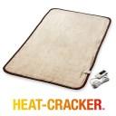 ヒートクラッカー 洗える 電気毛布 敷き毛布 抗菌防臭 シングル フランネル 毛布 タイマー付き 自動OFF 送料無料