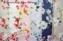 【抗菌・防臭】ローン生地/花柄/YUWA/有輪商店ミューファンコレクション/ミューファン/マスク作り/watercolor like flower/657513FM ※..