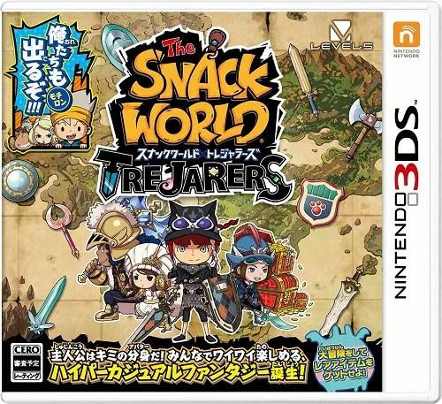 【3DS】スナックワールド トレジャラーズ