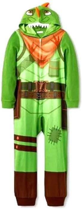 フォートナイト 着ぐるみ パジャマ レックス コスチューム 子供 コスプレ 衣装 テレビゲーム