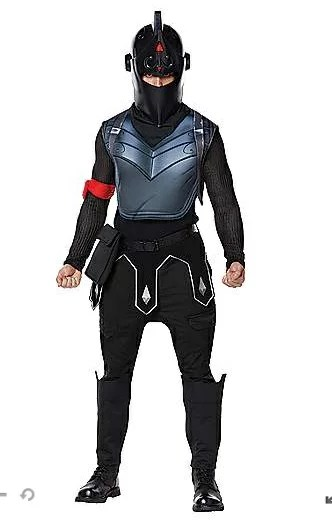 ブラックナイト コスチューム フォートナイト Fortnite ゲーム 大人 ハロウィン コスプレ イベント 衣装 テレビゲーム