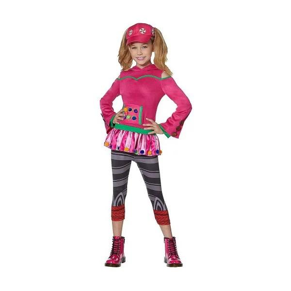 フォートナイト ゾーイ コスチューム 子供 コスプレ 衣装 テレビゲーム