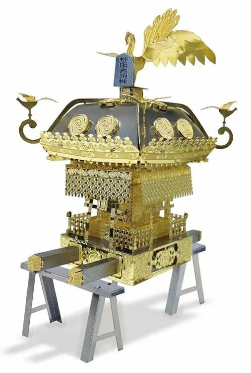 立体パズル TEN-T-ME-003M メタリックナノパズル 神田明神 大神輿