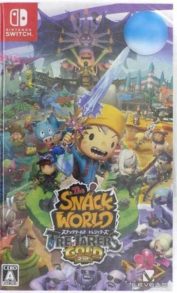 【特典】Nintendo Switch スナックワールド トレジャラーズ ゴールド[レベルファイブ]【送料無料】《発売済・在庫品》