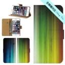 スマホケース 手帳型 iPhone 12 SE2 11 pro XR 全機種対応 プリント 印刷 木製風 木風 カラフ……