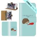 スマホケース 手帳型 iPhone 12 SE2 11 pro XR 全機種対応 個性的 モード シュール ハリネズミ……