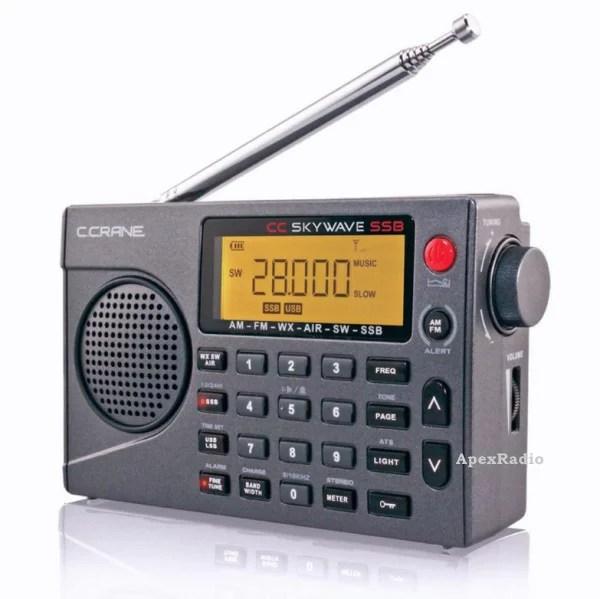 【先行限定】CC Skywave SSB AM FM 短波 VHF航空無線 ポータブル受信機 BCL