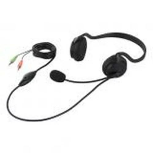 ヘッドセット 両耳ネックバンド式 ノイズ低減 ブラック BSHSN02BK BUFFALO バッファロー お取り寄せ